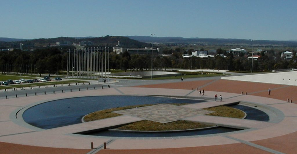 Parliament House Pond